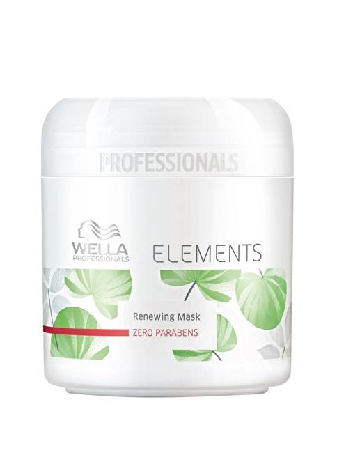 Wella Elements Onarıcı Maske 500 Ml Renksiz